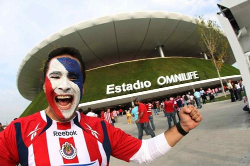 Estadio Omnilife Guadalajara Estadio Omnilife en Chivas
