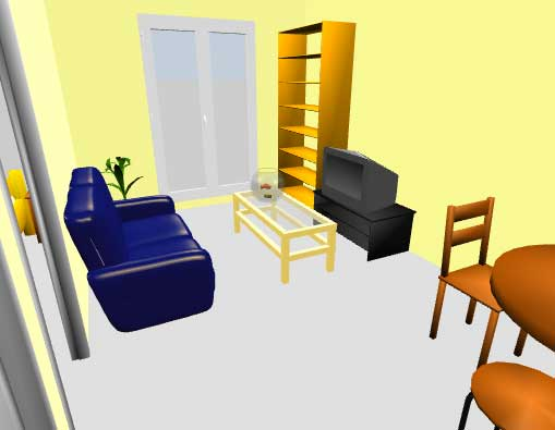 Sweet home 3d recrea virtualmente la disposici n de los muebles de una casa software gratis de - Sweet home muebles ...